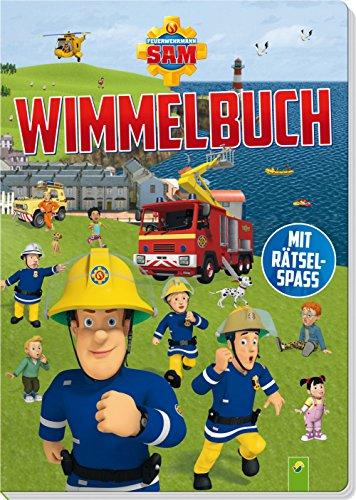 feuerwehrmann sam brettspiel Feuerwehrmann Sam Wimmelbuch: Mit Rätselspaß