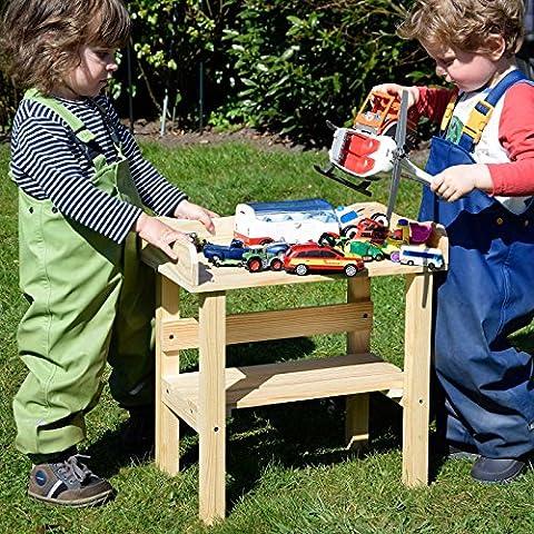 Table à planter / Table à potager pour enfants en bois massif de Gartenpirat®