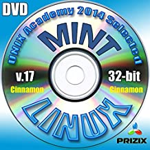 Mint Cinnamon 17 Linux DVD 32-bit Full Installation Includes Complimentary UNIX Academy Evaluation Exam