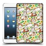 Offizielle Micklyn Le Feuvre Meerschweinchen Und Gänseblümchen Und Aquarell Muster 2 Ruckseite Hülle für Apple iPad mini 1 / 2 / 3