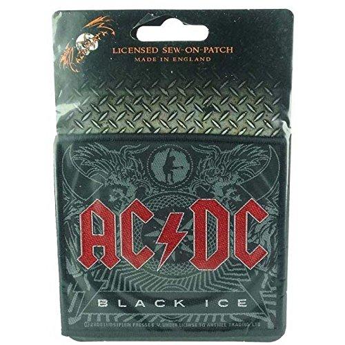 AC/DC - Black Ice - Toppa/Patch - SPEDIZIONE GRATUITA