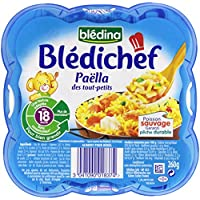 Blédina Blédichef Paëlla des Tout-Petits dès 18 mois 260 g - Lot de 6