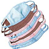 #4: Set Of 10 Colorful Anti-pollution Dust Mixed Cotton Mouth Nose Face Masks - 03