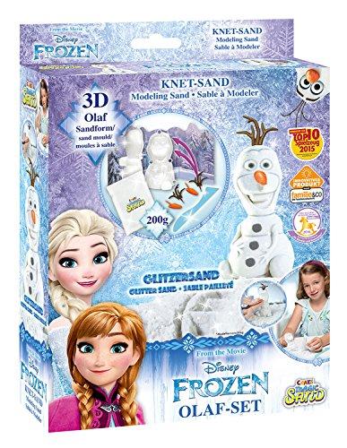 Craze 54209 - Magic Sand Frozen Olaf-Set., ca. 200g mit ()
