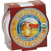 Badger FOOT BALM Certified Organic Moisturises & Repairs Dry Cracked