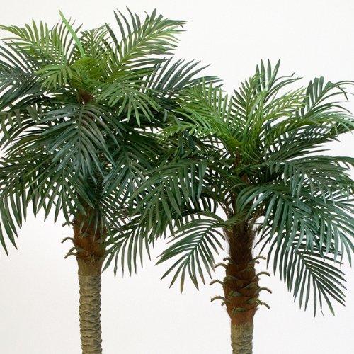 artplants – Künstliche Phönix-Palme Camila mit 28 Palmwedeln, 180 cm – Deko Palme/Kunst Palme