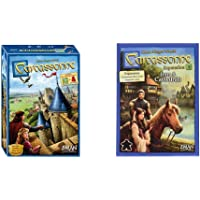 Z-Man Games Carcassone and Inns and Cathedrals Expansion Pack Bundle