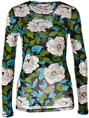 Diane Von Furstenberg Shirt Grün | Blau | Multicolor-40 -