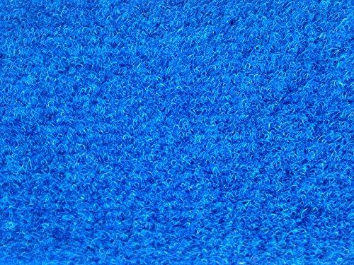 Tappeto bordo piscina blue barca giardino prato sintetico erba 5 millimetri morbido drenante 2 x 5