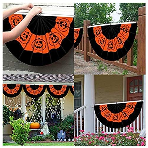 Kürbis Bunting - TianranRT Garten Banner,Happy Halloween Kürbis Laterne