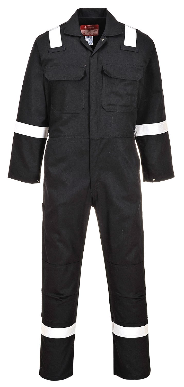 Portwest BIZ5NARXXXL Bizweld Iona Coverall Navy Regular Size: 3X-Large
