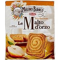 Mulino Bianco - Fette Biscottate, Armonie Malto Orzo - 4 confezioni da 315 g [1260 g]