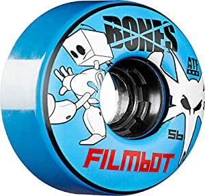 Bones ATF Filmbot 56mm Blue 80a Wheels (Set of 4)