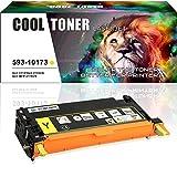 Cool Toner Gelb Toner Kompatibel für 593-10173 für Dell 3115cn 3110cn Toner 3115cn Gelb Dell 3115 Toner 3110, 8000 Seiten