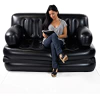 pinal Inflatable 5 in 1 Queen Size Multifunctional Sofa Cum Bed