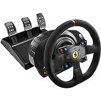 Thrustmaster - Volant T300 Ferrari Integral Racing Wheel Alcantara Edition - Réplique de la Ferrari 599XX Evo- PC/PS3/PS4