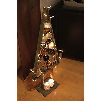 Weihnachtsbaum Hanging Tree Tannenbaum zum Hängen Metall Silber Pureday Weihnachtsdeko