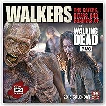 Walkers: The Eaters, Biters, and Roamers of The Walking Dead 2018: Original BrownTrout-Kalender [Mehrsprachig] [Kalender] (Wall-Kalender)