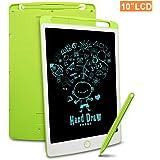 Richgv LCD Writing Tablet, 10 Pollici Elettronico Tavoletta Grafica Digitale Scrittura, Ewriter Paperless Disegno Pad…