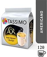 Tassimo L'OR Petit Déjeuner Classic 120 boissons (Pack de 5x24 Tdisc)