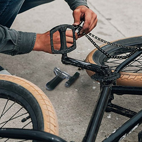Fahrrad Ketten Werkzeug, Samione Werkzeug Kettennietdrücker , Fahrrad Ketten Entferner Werkzeug für Fahrrad / Radsport Mountain Ketten, Schwarz - 4