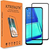 XTRENGTH's Advanced HD+ Tempered Glass Screen Guard Designed for OPPO A74 5G - Edge to Edge Full Screen Coverage with Easy In