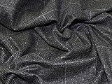 Principle Wollmischgewebe, Tweed-Beschichtung, Grau,