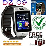 ZED BONE Bluetooth Smart Watch DZ09 with Camera/Sim Card Slot, Touch Screen, Audio