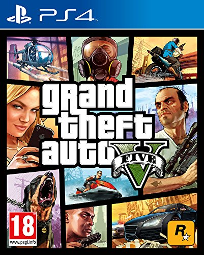 Grand Theft Auto V (GTA V) - PlayStation 4 [Edizione: EU]