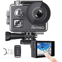 AKASO V50 Ultra 4K/30fps 20MP Action Cam WiFi Action Kamera mit Bildstabilisierung, 30M Unterwasserkamera mit…