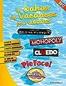 Maxi cahier de vacances multi marques Hasbro 2017 par Collectif
