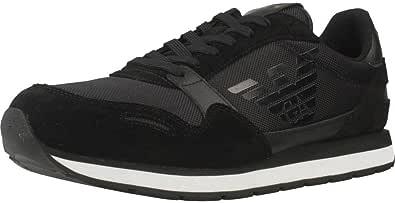 Emporio Armani Runner Uomo Sneaker Nero