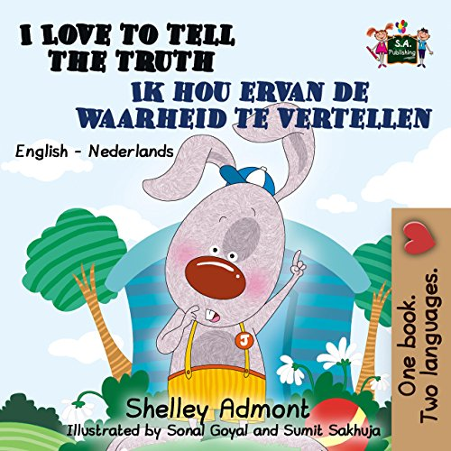 I Love to Tell the Truth (English Dutch Bilingual Collection) (Dutch Edition) por Shelley Admont