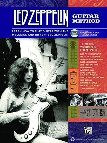 Led Zeppelin Guitar Method: Immerse Yourself in the Music and Mythology of Led Zeppelin as You Learn to Play Guitar by Led Zeppelin (2012-04-01) (Peak Led)