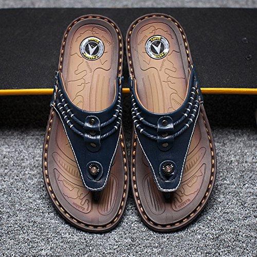 Tongs chaussures de plage hommes cool rdp, été respirant confortable XXCWN Blue