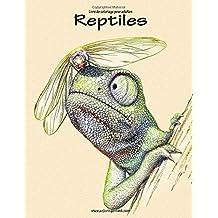 Livre de coloriage pour adultes Reptiles 1