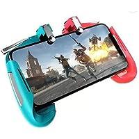 AK16 Telescopic Mobile Phone Gamepad Joystick Handle L1 R1 Trigger for PUBG Durable