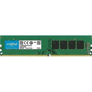 Crucial CT8G4DFD8213 Memoria da 8 GB, DDR4, 2133 MT/s (PC4-17000) DR x8, DIMM, 288-Pin