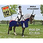GEE TAC NEW *FLY RIDING RUG,TURNOUT COMBO* FLY MASK, FLY SHEET,HORSE COMBO, (PLEASE EMAIL US YOUR SIZE THOUGH AMAZON) ** 4