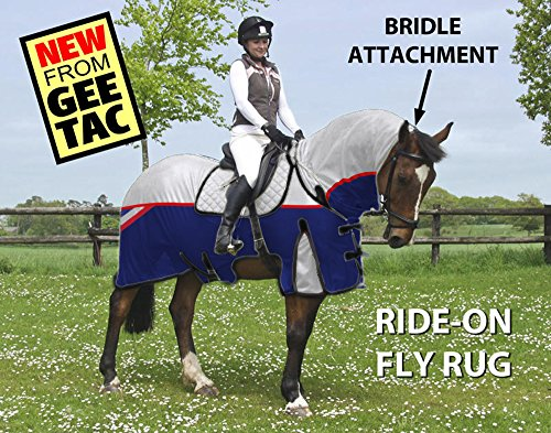 GEE TAC NEW *FLY RIDING RUG,TURNOUT COMBO* FLY MASK, FLY SHEET,HORSE COMBO, (PLEASE EMAIL US YOUR SIZE THOUGH AMAZON) ** 1