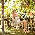TecTake 402986 Hängesessel zum Aufhängen, inkl. bequemes Sitzkissen, max. 100 kg belastbar von TecTake auf Gartenmöbel von Du und Dein Garten