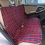 Pawz Road Housse de Siège pour Chien Chat Imperméable Couverture de Protection Hamac voiture 140*150cm Rouge