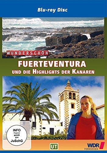 Preisvergleich Produktbild Fuerteventura und die Highlights der Kanaren - Wunderschön! [Bluray]