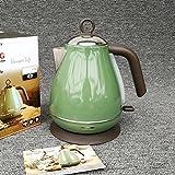 SLR High-Power-Wasserkocher 1.7L Wasserkocher 304 Edelstahl Premium-Wasserkocher,Grün,Einheitsgröße