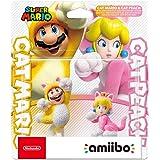 Amiibo Mario Gatto E Peach Gatto (Double Pack) - Limited - Nintendo Switch