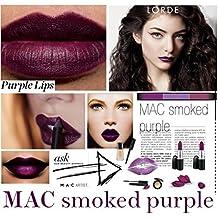 MAC Matte Lipstick SMOKED PURPLE by M.A.C