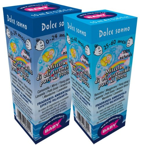 OK Baby Fragranze ambientali per diffusori Blue Aroma Dolce sonno 25-60 mesi [006]