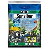 JBL Sansibar Substrat de Sol Naturel pour Aquariophilie Noir 5 kg