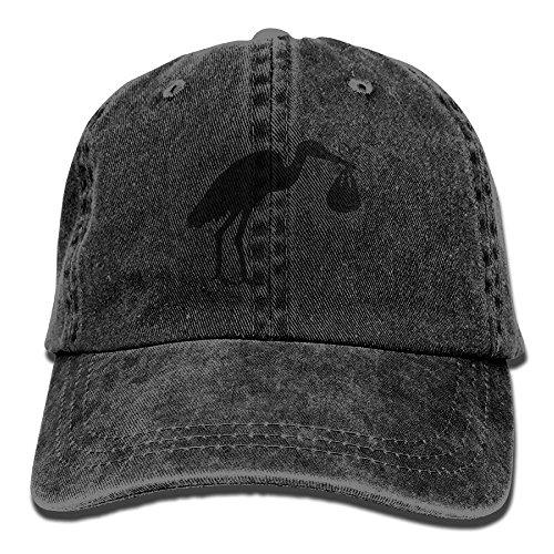 Birds Denim Baseball Caps Hat Adjustable Cotton Sport Strap Cap for Men Women (Frauen Bird Kostüme)