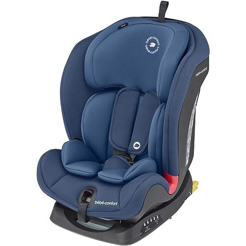 Bébé Confort Titan Seggiolino Auto 9-36 kg Isofix con Top Tether, Cinture a 5 Punti, Gruppo 123, Cresce con il Bambino dai 9 Mesi fino ai 12 Anni, Reclinabile in 5 Posizioni,Blu